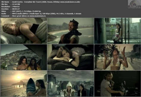 David Guetta - Everytime We Touch (2008, House, DVDrip)