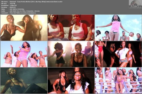 Diamond – Team Pretty Bitches [2011, HD 720p] Music Video