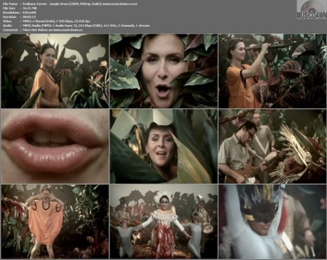 Emiliana Torrini – Jungle Drum [2009, DVDrip] Music Video (Re:Up)