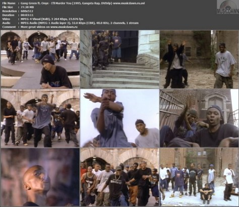 Gang Green ft. Onyx - I'll Murder You (1995, Gangsta Rap, DVDrip)