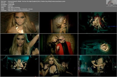 Havana Brown ft. Pitbull – We Run The Night (Explicit) [2012, HD 1080p] Music Video