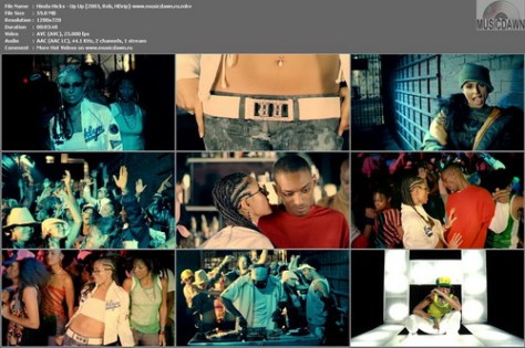 Hinda Hicks – Up Up [2003, HDrip 720p] Music Video (Re:Up)
