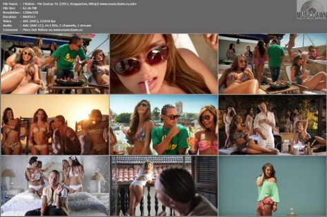 J Balvin – Me Gustas Tú  [2011, HD 720p] Music Video
