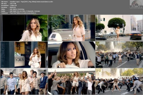 J. Lo - Papi (2011, Pop, HD 720p)