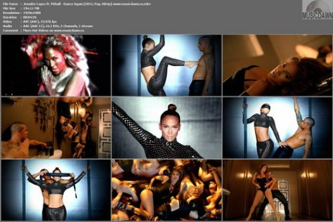 Jennifer Lopez ft. Pitbull - Dance Again (2012, Pop, HD 1080p)