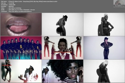 K'Naan ft. Adam Levine - Bang Bang (2010, Hip-Hop, HD 1080p)