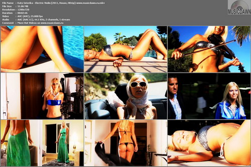 Katy Isterika – Electric Violin [2011, HD 720p] Music Video