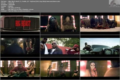 Killer Mike - Big Beast (Uncensored) {2012, Rap, HD 1080p}