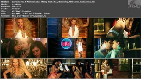 Laurentiu Duta ft. Andreea Banica – Shining Heart [2012, HD 1080p] Music Video