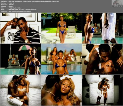 Loon feat. Mario Winans – Down For Me [2003, DVDrip] Music Video