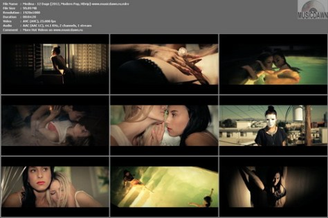 Medina – 12 Dage [2012, HD 1080p] Music Video