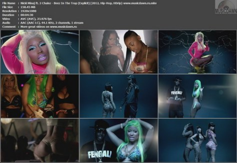 Nicki Minaj ft. 2 Chainz – Beez In The Trap [2012, HD 1080p] Music Video