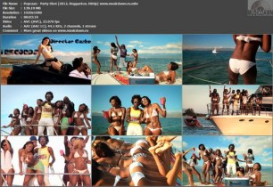 Popcaan – Party Shot [2012, HD 1080p] Music Video