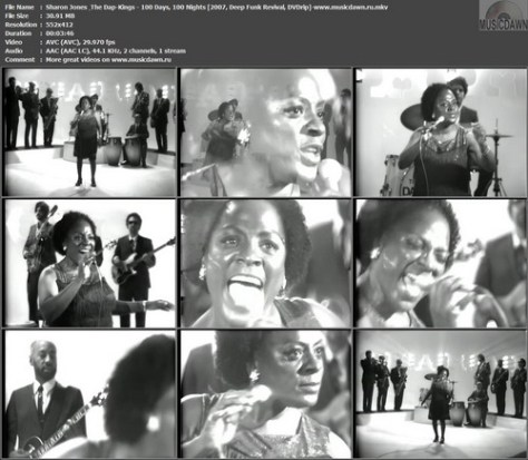 Sharon Jones & The Dap-Kings – 100 Days, 100 Nights [2007, DVDrip] Music Video (Re:Up)