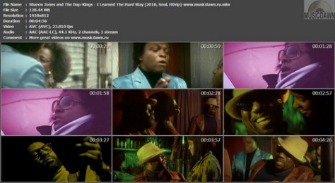 Sharon Jones and The Dap-Kings – I Learned The Hard Way [2010, HD 1080p] Music Video (Re:Up)