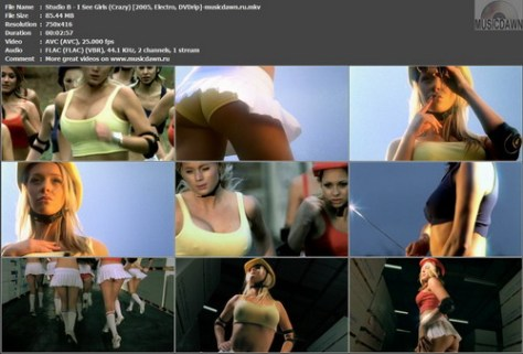 Studio B – I See Girls (Crazy) [2005, DVDrip] Music Video (Re:Up)