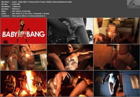 Zayra – Baby Likes To Bang [2010, HDrip] Music Video (Re:Up)