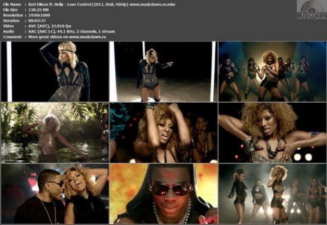Keri Hilson ft. Nelly - Lose Control (2011, RnB, HDrip)