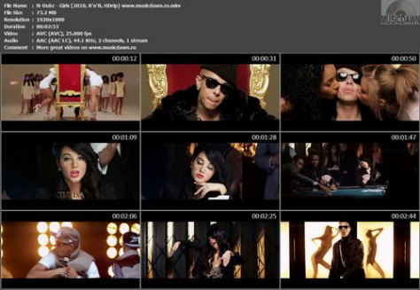 N-Dubz – Girls [2010, HDrip] Music Video (Re:Up)