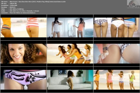 Alex Ferarri – Bara Bara Bere Bere [2012, HD 1080p] Music Video