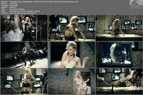 Alexandra Stan vs. Manilla Maniacs - All My People [2013, Modern Pop, HD 1080p]