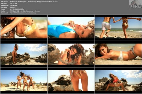 Andreea D – So Real [2012, HD 1080p] Music Video