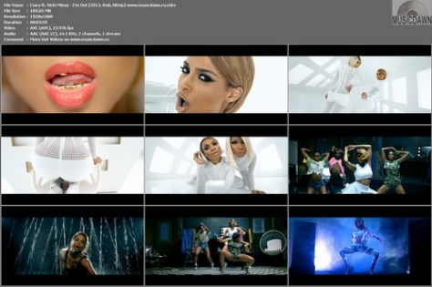 Ciara ft. Nicki Minaj – I'm Out [2013, HD 1080p] Music Video