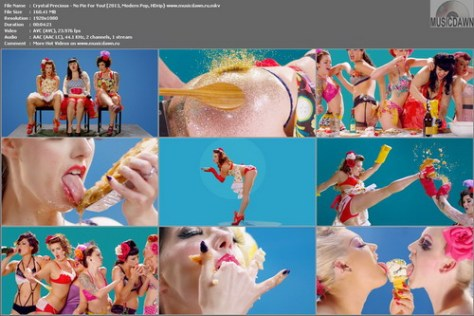 Crystal Precious - No Pie For You! [2013, Modern Pop, HD 1080p]
