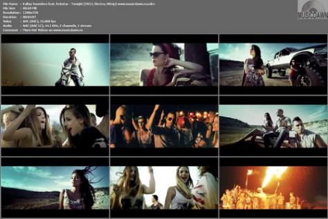Kallay Saunders feat. Rebstar - Tonight (2012, Electro, HD 720p)