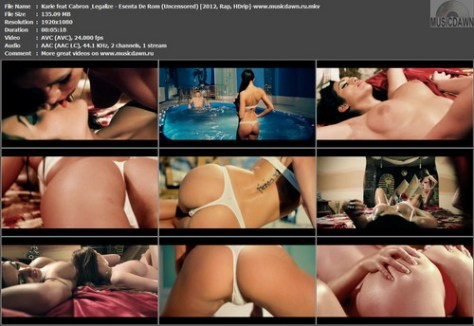 Karie feat Cabron & Legalize - Esenta De Rom (Uncensored) 2012, HD 1080p