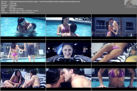 Manufactured Superstars ft. Arianny Celeste – Top Of The World [2012, HD 1080p] Music Video