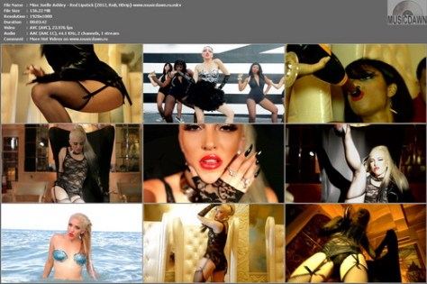 Miss Joelle Ashley – Red Lipstick [2012, HD 1080p] Music Video