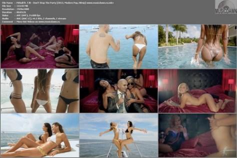 Pitbull ft. TJR - Don't Stop The Party (2012, Modern Pop, HD 1080p)