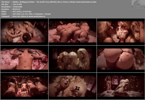 Skrillex & Wolfgang Garther – The Devil's Den (2 Versions) [2012, Electro, HD 1080p] Music Videos