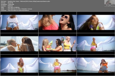 Spankox feat. Yunna – Makaroni [2013, HDrip] Music Video