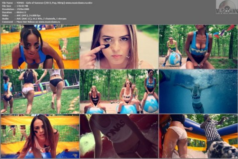 YONAS - Girls of Summer [2013, Pop, HD 1080p]