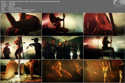 Young Maestro ft. Blu Sky - Money In The Air (2012, Rap, HD 1080p)