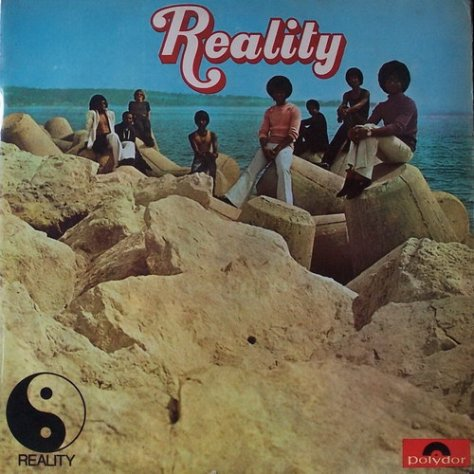 Reality Self Titled LP 1972 Cover Art Front