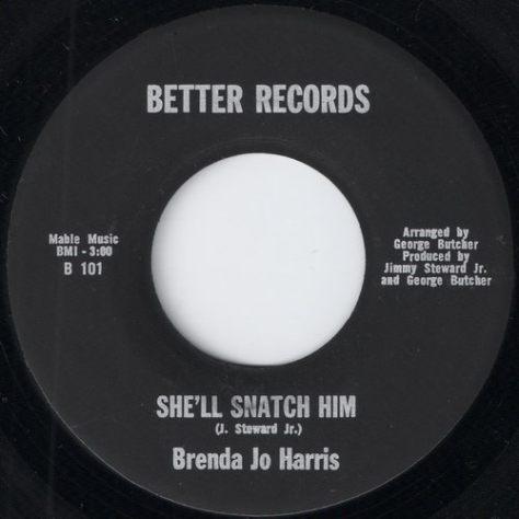 Brenda Jo Harris - She'll Snatch Him (Better # B 101)