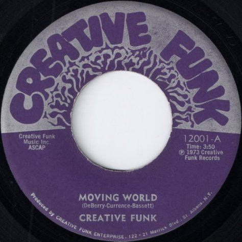 "Creative Funk – Moving World (Creative Funk) [7""] '1973"