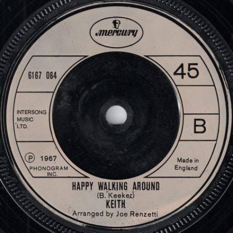 Keith - Happy Walking Around (Mercury)