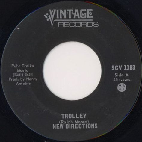 "New Directions – Trolley (Vintage) [7""]"