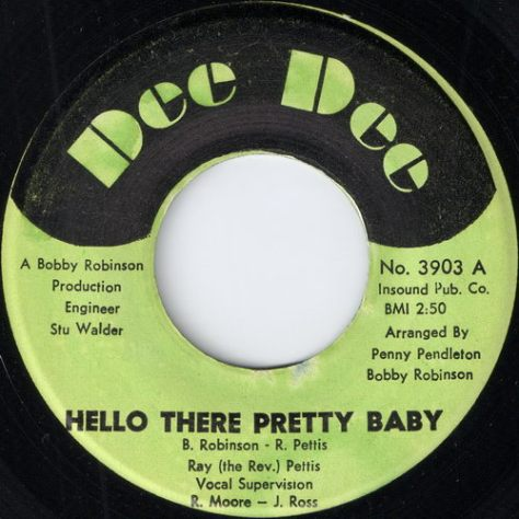 Ray Pettis - Hello There Pretty Baby (Dee Dee)