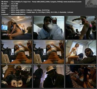 Tha Eastsidaz ft. Suga Free - Pussy Sells (XXX) 2000, Gangsta, DVDrip