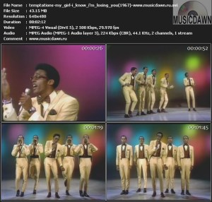 Temptations – My Girl / (I Know) I'm Losing You (1967) Video