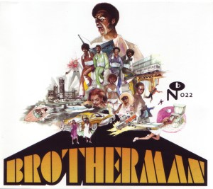 The Final Solution - Brotherman OST '1975 Cover Art Numero Group