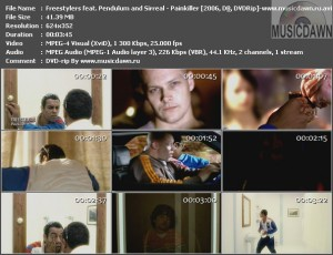 Freestylers feat. Pendulum and Sirreal – Painkiller [2006, DVDRip] Music Video