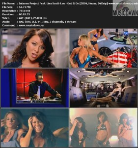 Intenso Project Feat. Lisa Scott-Lee - Get It On (2004, House, DVDrip)