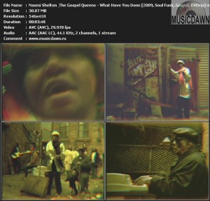 Naomi Shelton & The Gospel Queens - What Have You Done? (2009, Soul Funk, Gospel, DVDrip)