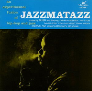Guru - Jazzmatazz Volume 1 '1993 Front Cover Art